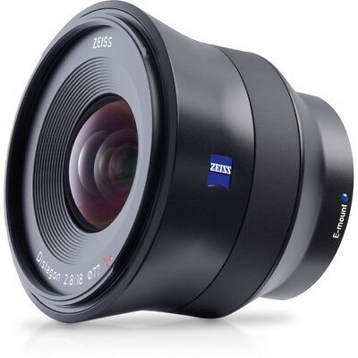 New Carl Zeiss Batis 18mm f2.8 Sony E mount Lens