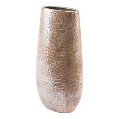 Large Multicolor Ceramic Modern Decorative Centerpiece Vase For
