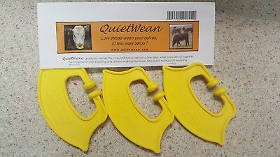 Quiet Wean - Stress reducing calf nose tags