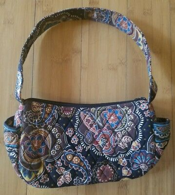 Vera Bradley Maggie Handbag Purse Kensington Retired Pattern Usa