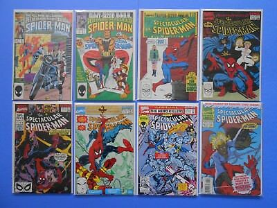 Peter Parker The Spectacular Spider-Man Annual Lot #6 7 8 9 10 11 12 13 Marvel