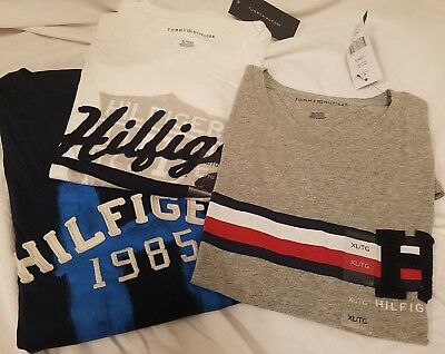 Tommy Hilfiger Men/'s Heritage Graphic T-Shirt Tee XL or XXL NWT New with Tags