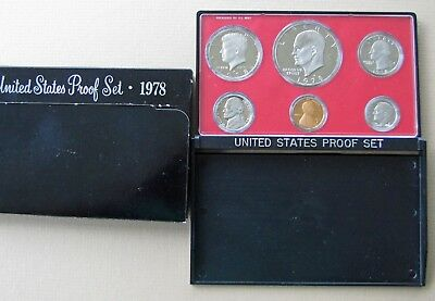 1978 US Proof Set - Low COMBINED Shipping - No Reserve