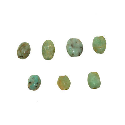 (2157) Ancient African Amazonite Beads