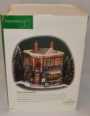 Dept 56 Dickens Village - The Horse and Hounds Pub - #58340