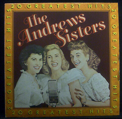 LP THE ANDREW SISTERS - 20 greatest hits
