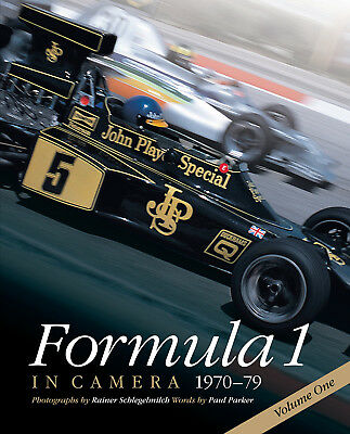 Formula 1 in Camera 1970-79 Vol 1 Rindt Stewart Fittipaldi Lauda Hunt Buch book