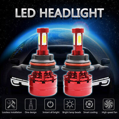 9004 HB1 2300W 345000LM LED Headlight Kit Hi/Lo Beam Bulb White 6000K High Power