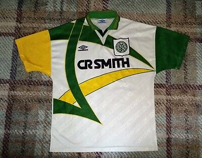 Celtic F.C. 1994-1995 3rd (Third) Rare Football Shirt / Top Size Large