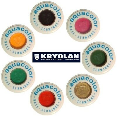 KRYOLAN AQUACOLOR 30 ml cialda truccabimbi trucco professionale make-up