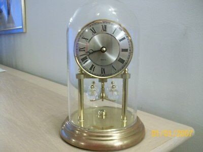 A Vintage Mantel/ Anniversary Clock   Quartz Made In West  Germany Spares/repair