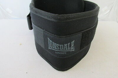 """New Lonsdale Weightlifting Belt Length 42""""  F2/2209"""