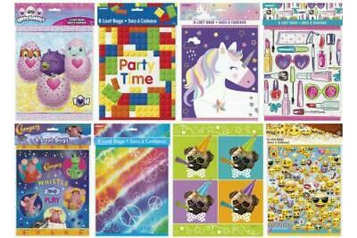 Kids/Children's  Birthday Party Loot Goody Bags Choose Character & Quantity