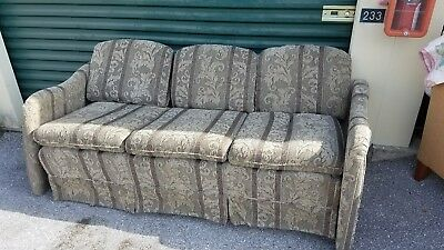 Rv Camper Flexsteel Sleeper Couch From Holiday Rambler