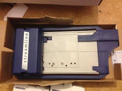 Streamline Back Up Credit Card Imprinter In Box With Sales & Banking Vouchers