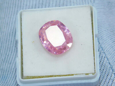 Kunzite natural 13.65Cts oval Cut Translucent Pink Untreated Loose Gemstone 1674