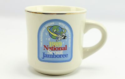 1989 National Scout Jamboree Boy Scouts of America Coffee Mug Cup