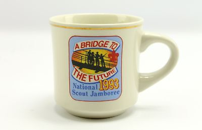 1993 National Scout Jamboree Boy Scouts Bridge to the Future Coffee Mug Cup