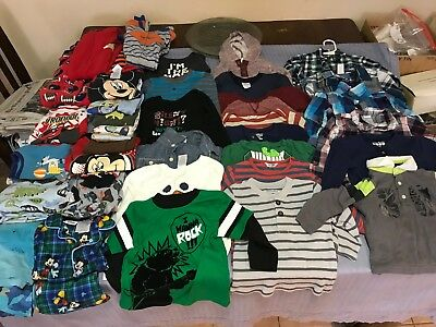 Lot Of 18M-24M Boys Assorted Winter/fall Clothing Name Brands (37 Pieces)