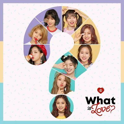 Twice 5Th Mini Album [ What Is Love? ] Cd + Photocard + Pre Order Benefit