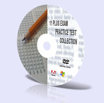 11+ Plus Practice Test Papers Revision Aids Over 1000 papers on CD Free Updates!