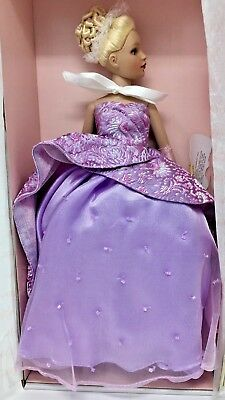 "Tiny Kitty Collier ""EVENING GALA"" 10 in Doll BLONDE PURPLE DRESS #KT1304 - NRFB"