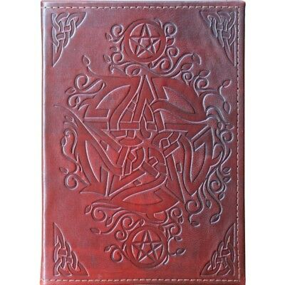 Pentacle Leather Journal/Book of Shadows