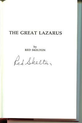 Red Skelton Autograph Comedian Actor INn DuBarry Was A Lady Signed Book