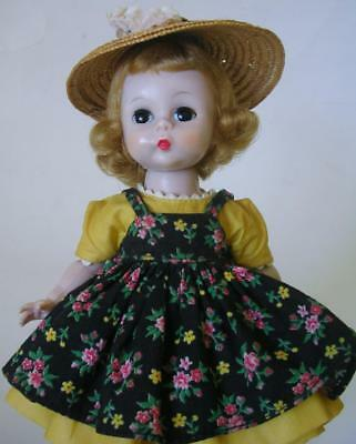 VINTAGE 1950's MADAME ALEXANDER KINS WENDY GOES TO SCHOOL SLW DOLL TAG DRESS 460