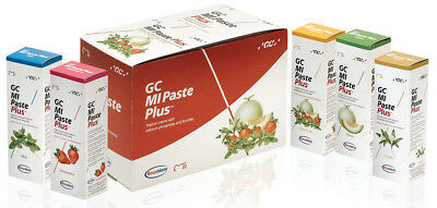 GC MI Paste/MI Paste Plus Anticavity Recaldent Cream Melon Flavor 40g Paste FDA