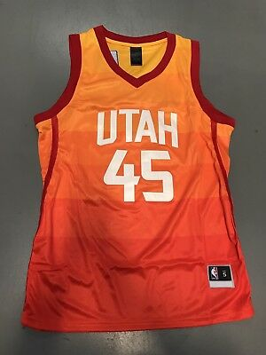 UTAH JAZZ DONOVAN Mitchell Jerseys Slam Dunk Champion Edition ... 11431cccc993