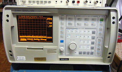 HP Agilent 8935 SERVICE MONITOR RADIO TEST SET + Spectrum Analyzer w/ Track Gen
