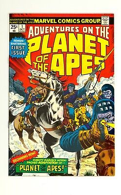 Adventures On The Planet of the Apes #1 7.5 (O/W) Very Fine Minus Marvel 1975