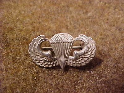 Original Wwii Us Cap Size Sterling Paratrooper Wings