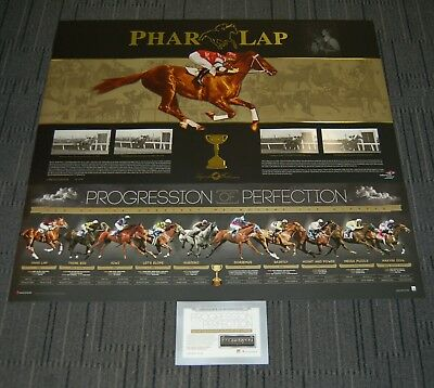 Phar Lap Melbourne Cup Progression Of Perfection Horse Racing Official Prints