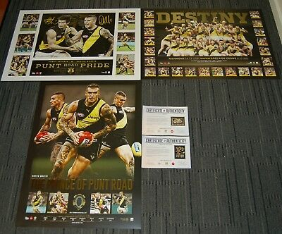 Richmond 2017 Premiers Destiny Punt Rd Pride Price Of Punt Rd Martin Print Pack