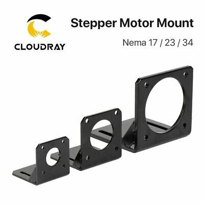 Stepper Motor Mounting L Bracket 1Pcs Steel for Nema17 23 34 Stepper Motor
