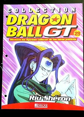 Collection Dragon Ball GT n°29 - Editions Atlas - Riu Shéron -