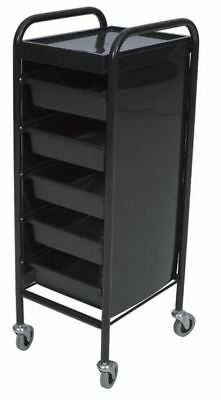 New 5 Tier Drawer Hairdressing Salon Spa Trolley Beauty & Barber Free DeliveryAU