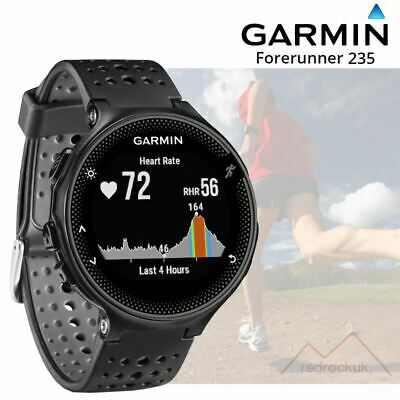 Garmin Forerunner 235 ANT+ GPS Integrated HRM Sports Running Watch - Black/Grey