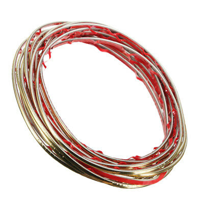 5m Car Interior Exterior Decoration Moulding Trim Strip Line Bronze
