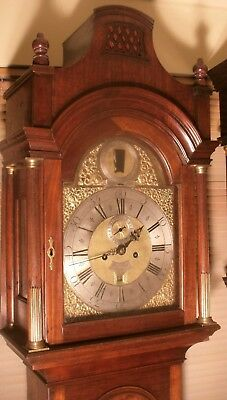 """Antique  """"London""""  Automation  Father Of Time  Longcase / Grandfather Clock"""