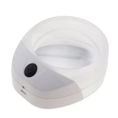 Reading Magnifier 10X Magnification with LED Room Display Decorations