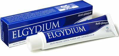Elgydium Toothpaste Anti-Plaque 75ml FREE POST