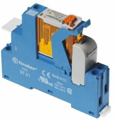 Finder Relay Socket, 110V ac for use with 4C Series