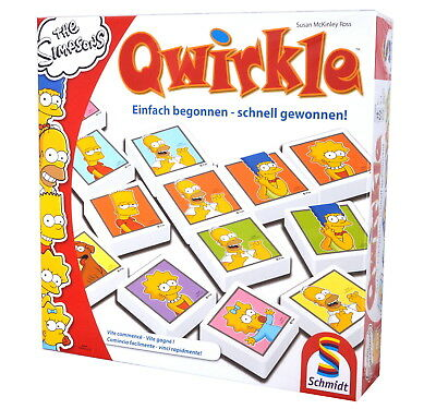 Die Simpsons - Qwirkle (NEU)