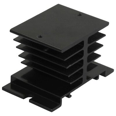 5X(Aluminum Heat Sink 80mm x 50mm x 50mm for Solid State Relay SSR V1T3)