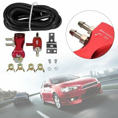 Red Adjustable Manual Car Turbo Boost Valve Controller Booster Kits Universal HG