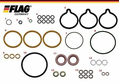 Seal Repair Kit, CP1 Bosch Common Rail High Pressure Fuel Pumps with Front Seal