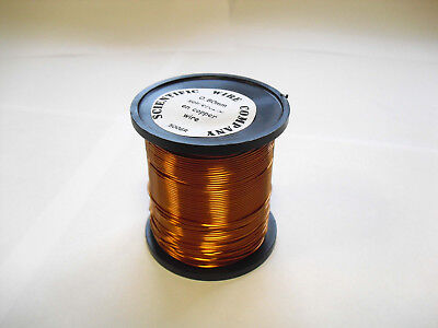 ENAMELLED COPPER WIRE - COIL WIRE,SOLDERABLE MAGNET WIRE - 250g - 0.15mm 38 swg